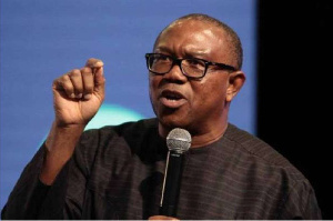 Vice Presidential candidate of the Peoples Democratic Party in the 2019 election, Mr Peter Obi