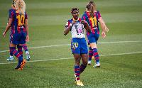 Asisat Oshoala mourns her stepmom after scoring