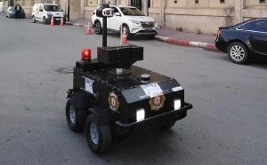 Tunisian robots deployed to enforce lockdown orders