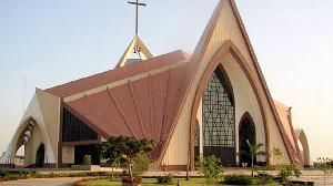 A church building