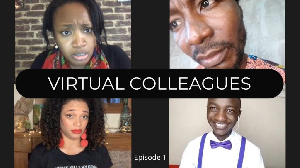 The cast of the Virtual Colleagues