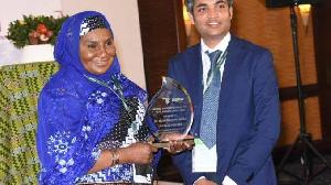 Hajia Salamatu Garba wins Value4her Women Agriprenuer of the Year 2021 (