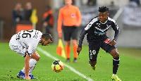 Samuel Kalu in action for Bordeaux
