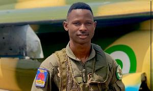 Flight Lieutenant Abayomi Dairo, pilot of the ill-fated aircraft