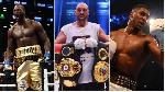 Deontay Wilder, Tyson Fury and Anthony Joshua