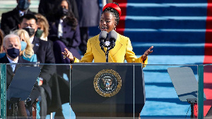 Amanda Gorman is the youngest poet to recite a poem at a presidential inauguration.