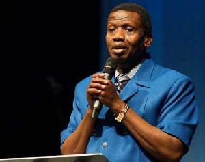Pastor Enoch Adeboye, General Overseer of the Redeemed Christian Church of God