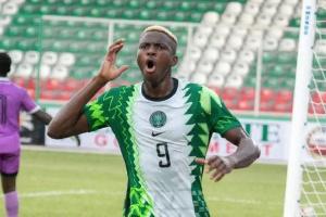 Super Eagles striker, Victor Osimhen