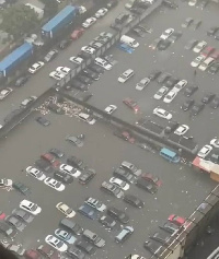 Lagos submerged by flood