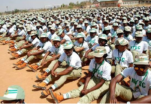 Some youth corps members