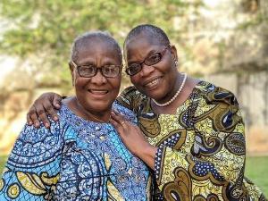 Oby Ezekwesili and mother