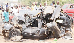 Accident on the Ilorin-Jebba Expressway