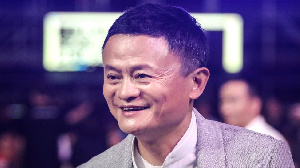 Jack Ma, founder and executive chairman of China's Alibaba Group