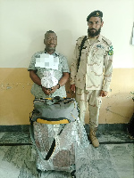Nigerian national arrested with cocaine at Pakistan airport