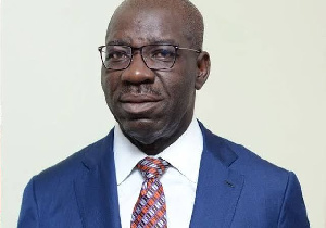 Godwin Obaseki was re-elected governor over the weekend