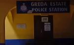 The Greda Estate police station