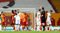 Etebo was given his marching order in the second after picking up two yellow cards