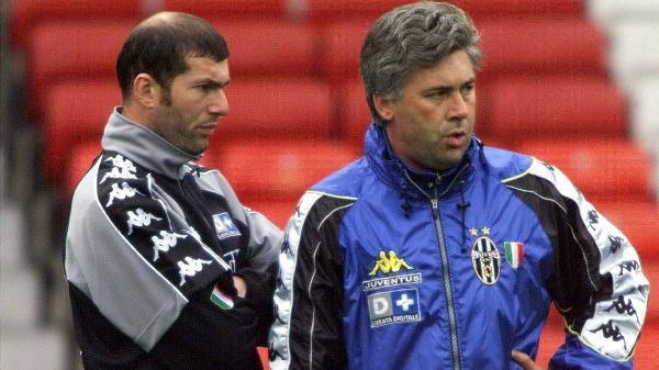 Ancelotti and Zidane in Turin days      AS