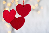 love shape signifies valentine