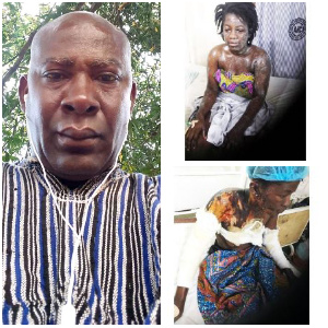 The convict, Nana Yaw Mante launched the acid attack on the victims