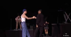 Wizkid and Justin Bieber