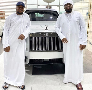 Hushpuppi with his friend Pac