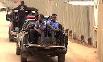 Armed Policemen on patrol