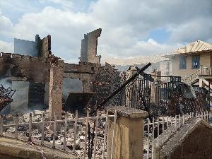 Fire destroys properties in Osogbo