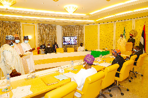 Swearingin ceremony of INEC commissioners