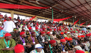 Some Igbo red cap chiefs