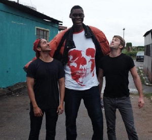 Mr. Agoro is 7 feet 4 inches tall