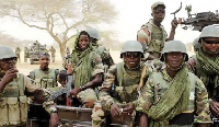 Some men of the Nigerian military