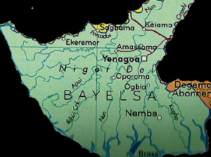 File photo: Bayelsa State map