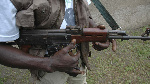 File photo: A gunman