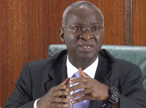 Babatunde Fashola, Minister of Works and Housing