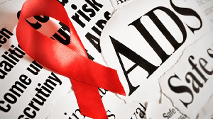 File photo: HIV/AIDS logo