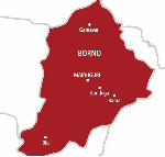Borno State map