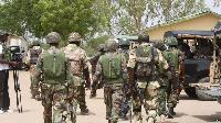 Members of Nigerian Army