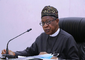 Alhaji Lai Mohammed, the Minister of Information and Culture