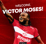 Moses joins Spartak Moscow on loan