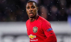 Odion Ighalo played for English giants. Manchester United