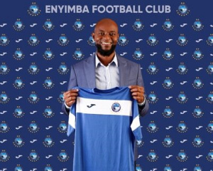 Super Eagles legend Finidi George is currently in charge of Enyimba