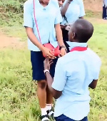 Male student propose to girlfriend after WAEC examination