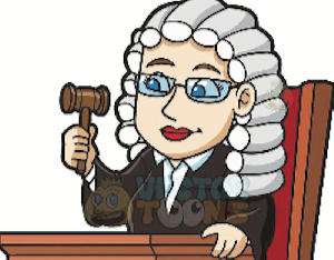 An image of a female judge