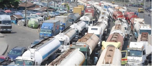 Traffic bottleneck at Apapa, Lagos