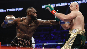 Wilder & Fury exchanged fists in the first bout that ended in a draw at the Staples Center last yea