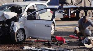 The accident occurred on Monday around 12 noon along Issele-Azagba-Ogwashi-Uku Road