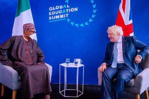 Boris Johnson, President Buhari