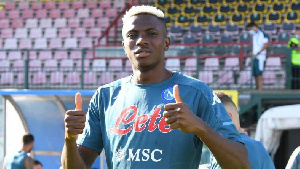 Victor Osimhen has already made two competitive appearances for Napoli