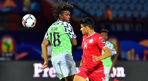 Nigeria play Tunisia